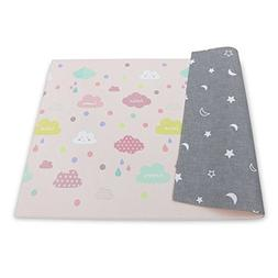 BABY CARE Reversible Happy Cloud Playmat