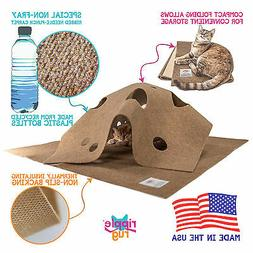 SnugglyCat The Ripple Rug - Made in USA - Cat Activity Play