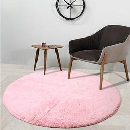 Round Area Rugs for Children Play Super Soft Mat Living Room