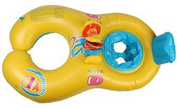 AmaranTeen - pc/lot Safe Seat Swimming Ring for Baby Bath PV
