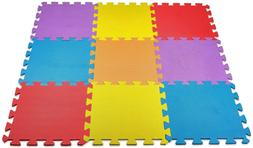 Safety Floor Play Mat for Kids Solid Foam Exercise Puzzle Ma