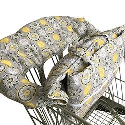 Pueri Shopping Cart Cover 2-in-1 Baby Shopping Cart Cover &