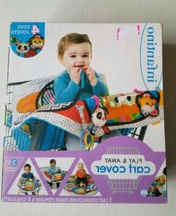 Shopping Cart Cover Infantino Play Away Mat 4 Toys Attached