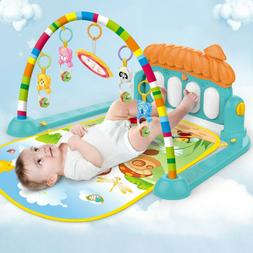 Soft Baby Gym Floor Play Mat Musical Activity Center Kick An