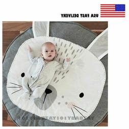 Soft Cotton Baby Kids Game Gym Activity Play Mat Crawling Bl