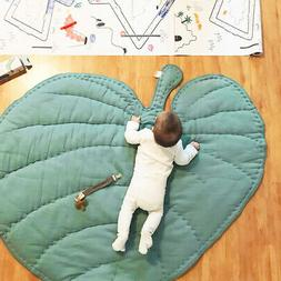 Soft Cotton Baby Kids Play Mat Floor Rug Game Gym Activity C