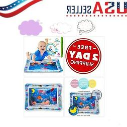 Splashing Kids Inflatable Tummy Time Water Play Mat Baby Inf