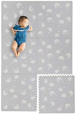 Stylish Extra Large Baby Play Mat Soft Playmat, Thick Comfor