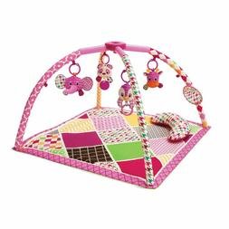 Sweet Safari Twist and Fold Activity Gym and Play Mat For To