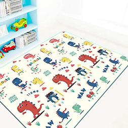 Thick Baby Play Mat, One-Piece Reversible Kids Play Mat XPE