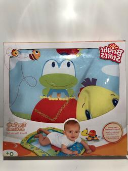 BRIGHT STARTS ~ TINY TURTLE & FRIENDS PROP AND PLAY MAT SET