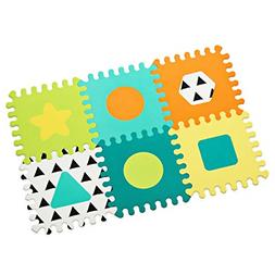 Topsy Turvy Soft Foam Puzzle Mat Extra Thick And Cushioned 1