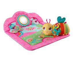 Bright Starts Tummy Cruiser Prop and Play Mat, Pretty In Pin