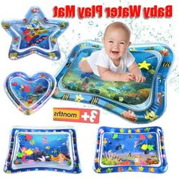 Tummy Time Baby Water Mat Infant Toy Inflatable Play Mat for