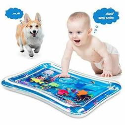 Tummy Time Baby Water Mat Inflatable Baby Play Activity Cent