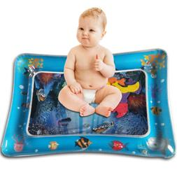 Tummy Time Baby Water Mat Inflatable Play Mat Floor Activity