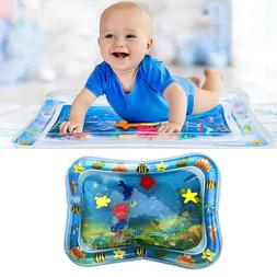 Tummy Time Inflatable Water Mat for Babies Cushion Play Mat