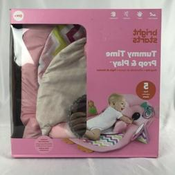 Bright Starts Tummy Time Prop & Play Activity Mat Pink Owl A
