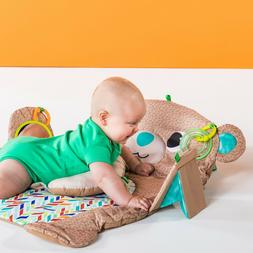 Bright Starts Tummy Time Prop & Play Activity Mat - Teddy Be