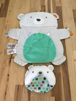 Bright Starts™ Tummy Time Prop & Play Mat Target Bear Baby