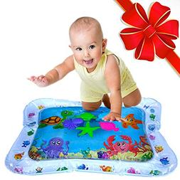 Tummy Time Toys Water Mat Activity Center for Baby - Inflata