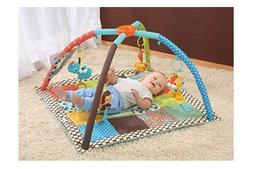 Infantino Twist and Fold Activity Gym Tummy Time Mat Baby Pl