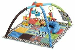 Infantino, Twist and Fold Activity Gym,Vintage Boy For Age r