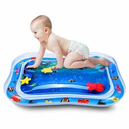 US Best Tummy Time Water Play BPA Free Mat for Kids n Baby