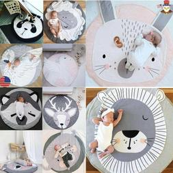 USA Soft Thick Cotton Cushion Baby Play Mat Infant Kids Cute