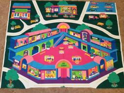 "Cranston VIP Girls Play Mat Fabric Panel 36""x44"" Roads Town"