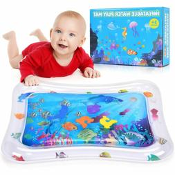 Water Play Mat Battop Inflatable Baby Water Mat Tummy Time A