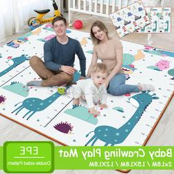 Waterproof Foldable Floor Baby Play Crawling Mat Rug Creepin
