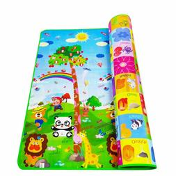 Waterproof Hygienic And Soft Baby Developing Play Mat Rug Ev