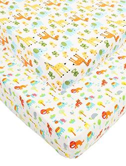 Waterproof Pack N Play/Mini Portable Crib Sheet with Mattres