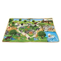 WILD PLAY MAT Safari Ltd #220329 wildlife zoo animals works