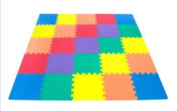 25 pc. Wonder Baby Play Mat Extra Thick Rainbow Foam Non-Tox