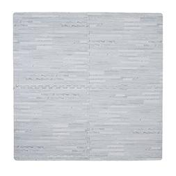 Tadpoles Wood Grain Playmat Sets, Grey