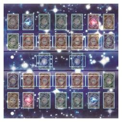 Yugioh Card Two Player Double Playmat 60x60cm Rubber Galaxy